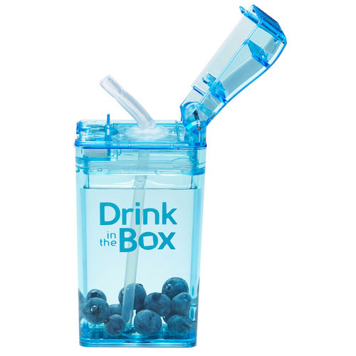 Drink in the Box blauw open