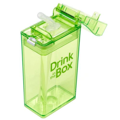 Drink in the Box groen bovenaf