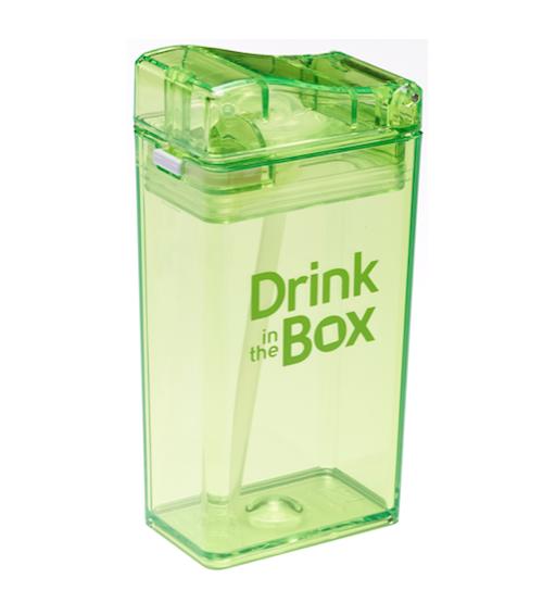 Drink in the Box groen gesloten