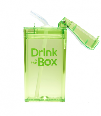 Drink in the Box groen open