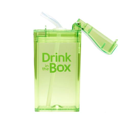 Drink in the Box groen open