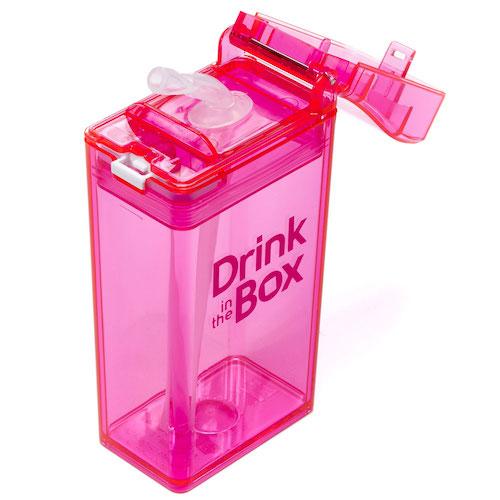 Drink in the Box roze bovenaf
