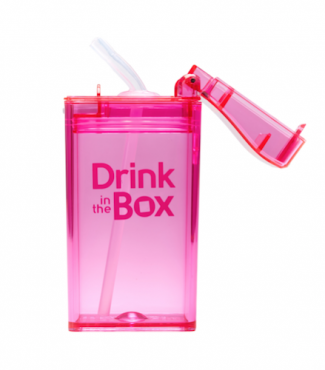 Drink in the Box roze open