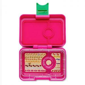 Mini bento roze, Yumbox Mini Snack Cherie Pink