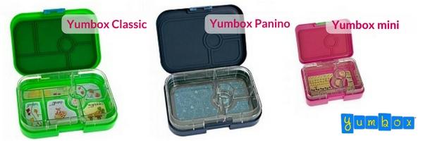 Yumbox assortiment