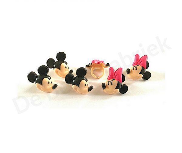 Mickey en Minnie Mouse Bento ringen