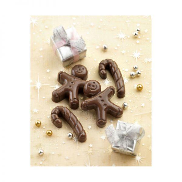 Bento Gingerbread man gezonde snoepjes vorm