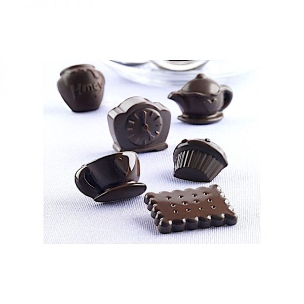 Bento High Tea gezonde snoepjes vorm