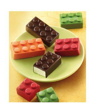 Bento Lego snoepjes en muffin vorm