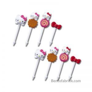 Hello Kitty bento prikkers