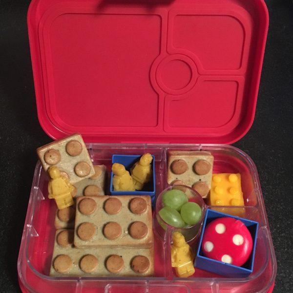 Lego bento lunch
