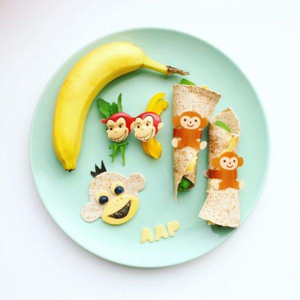Broodje Aap Bento set