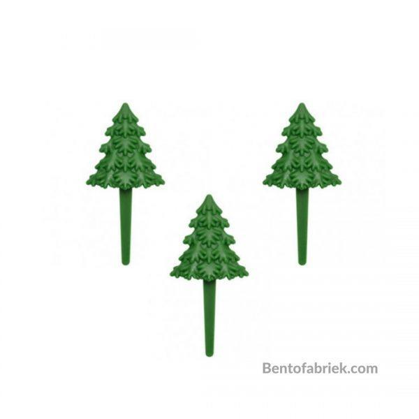 Kerstboom Bento prikkers