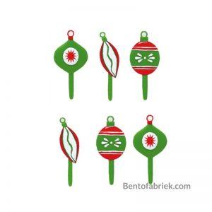 Kerstbal Bento prikkers