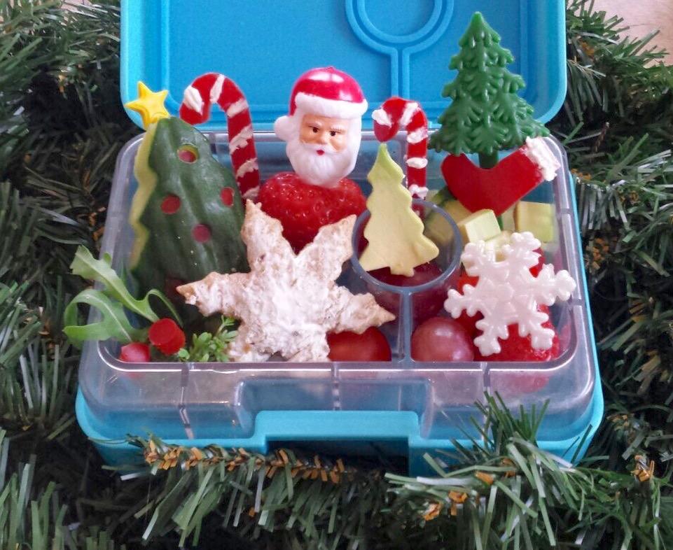 Kerst bento Yumbox mini
