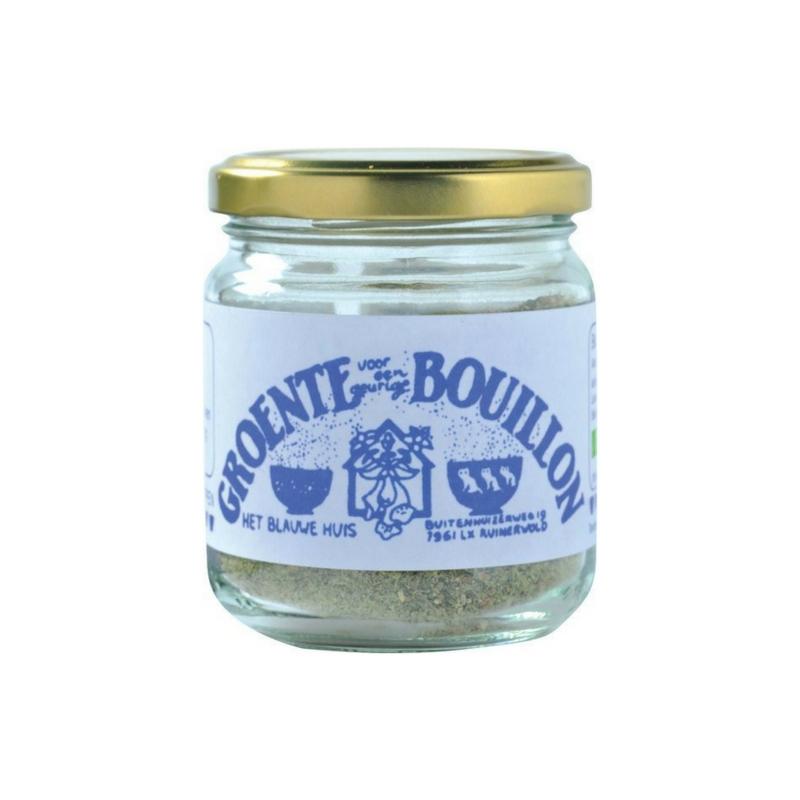 Het Blauwe Huis Bouillonpoeder, zonder gist en zout