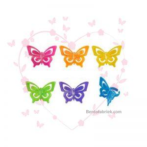 Vlinder Bento ringen