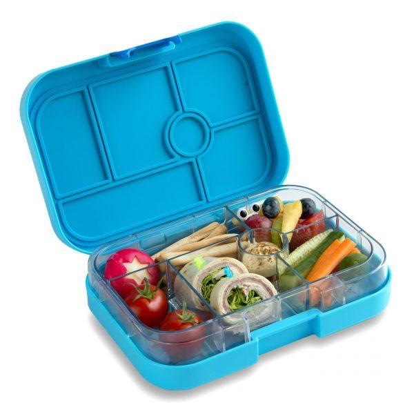 Blauwe Yumbox bentobox, Blue Fish Classic