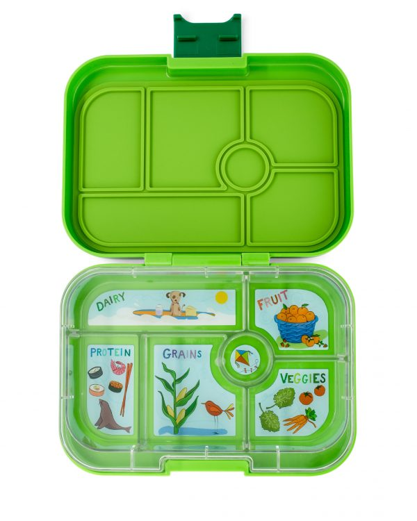 Groene Yumbox bentobox, Avocado green Classic