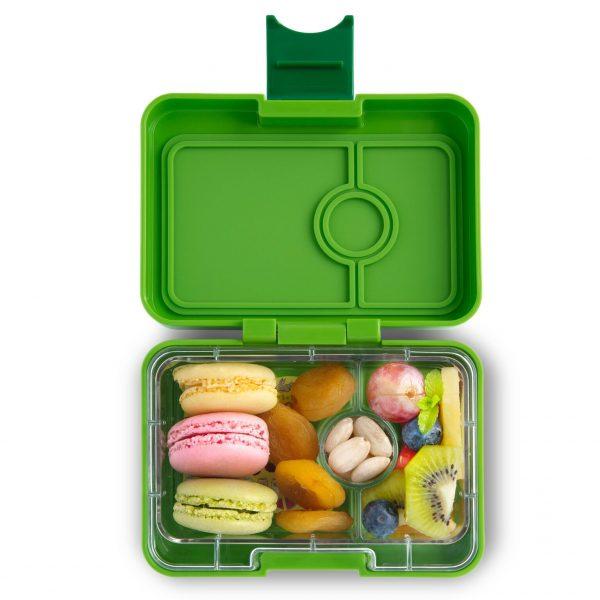 Mini bento groen, Yumbox Mini Snack Avocado Green