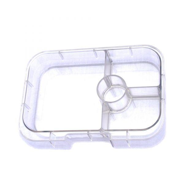 Yumbox Panino Clear tray - 4 vakken