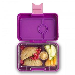 Mini bento paars, Yumbox Mini Snack Bijoux Purple