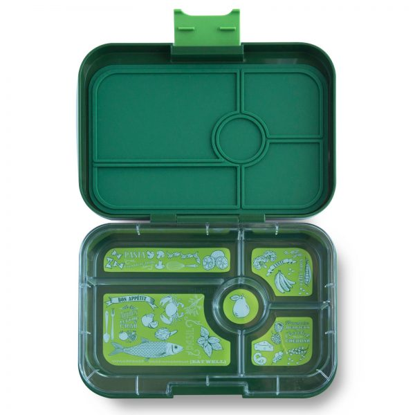 Yumbox Tapas Brooklyn Green - 5 vakken