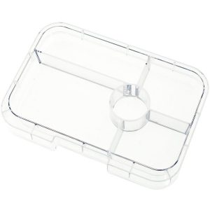 Yumbox Tapas Clear tray- 5 vakken