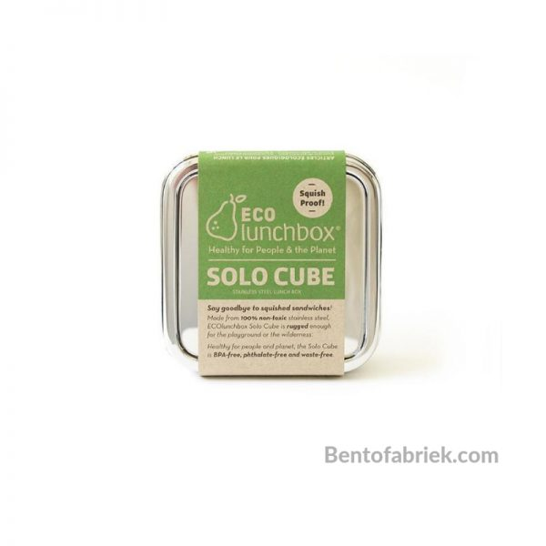 Eco Lunchbox Solo Cube RVS