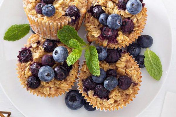 Gezonde cupcakes