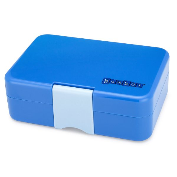 Mini bento blauw, Yumbox Mini Snack Jodhpur Blue