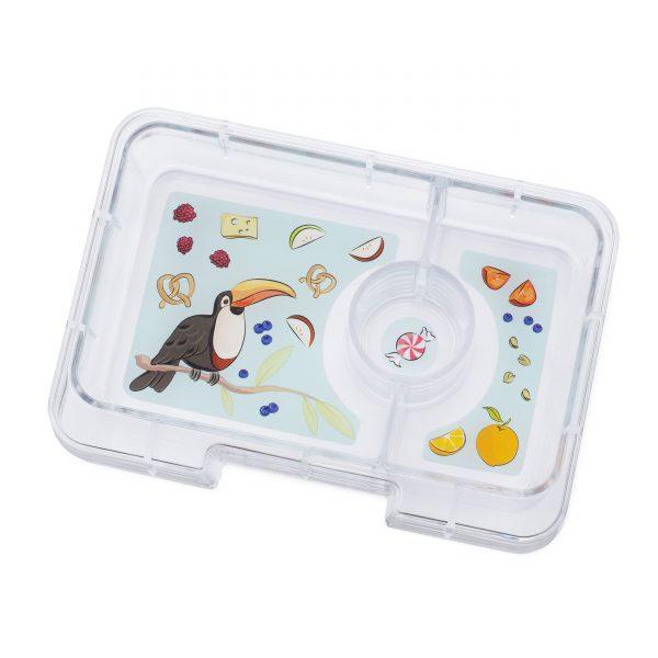 Yumbox Minisnack Tucan tray