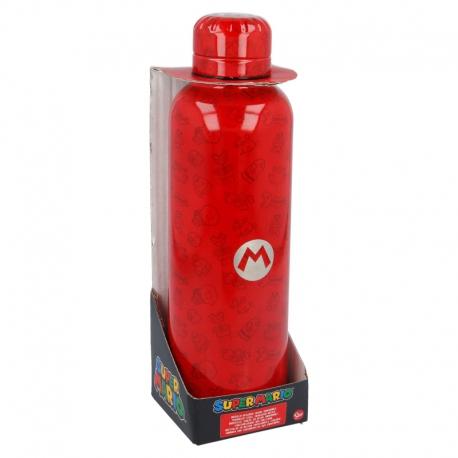 Thermosfles Super Mario RVS - 100% lekvrij!