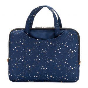 Yumbox geïsoleerde lunchbox sleeve met handvat, Navy blauw met sterren