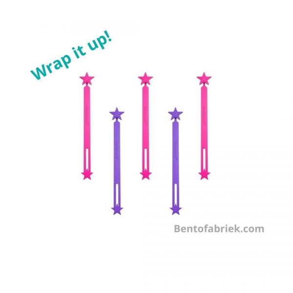 Lunch Punch Wrap bands - Roze