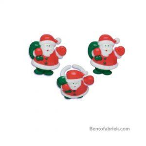 Kerstman bento ringen