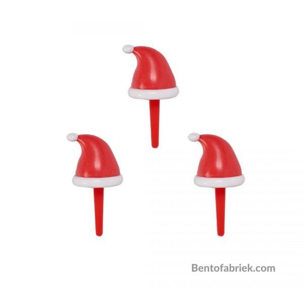Kerstmuts Bento prikkers