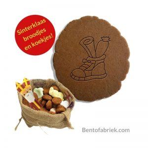Schoen Sinterklaas uitsteker, Brood en koekjes