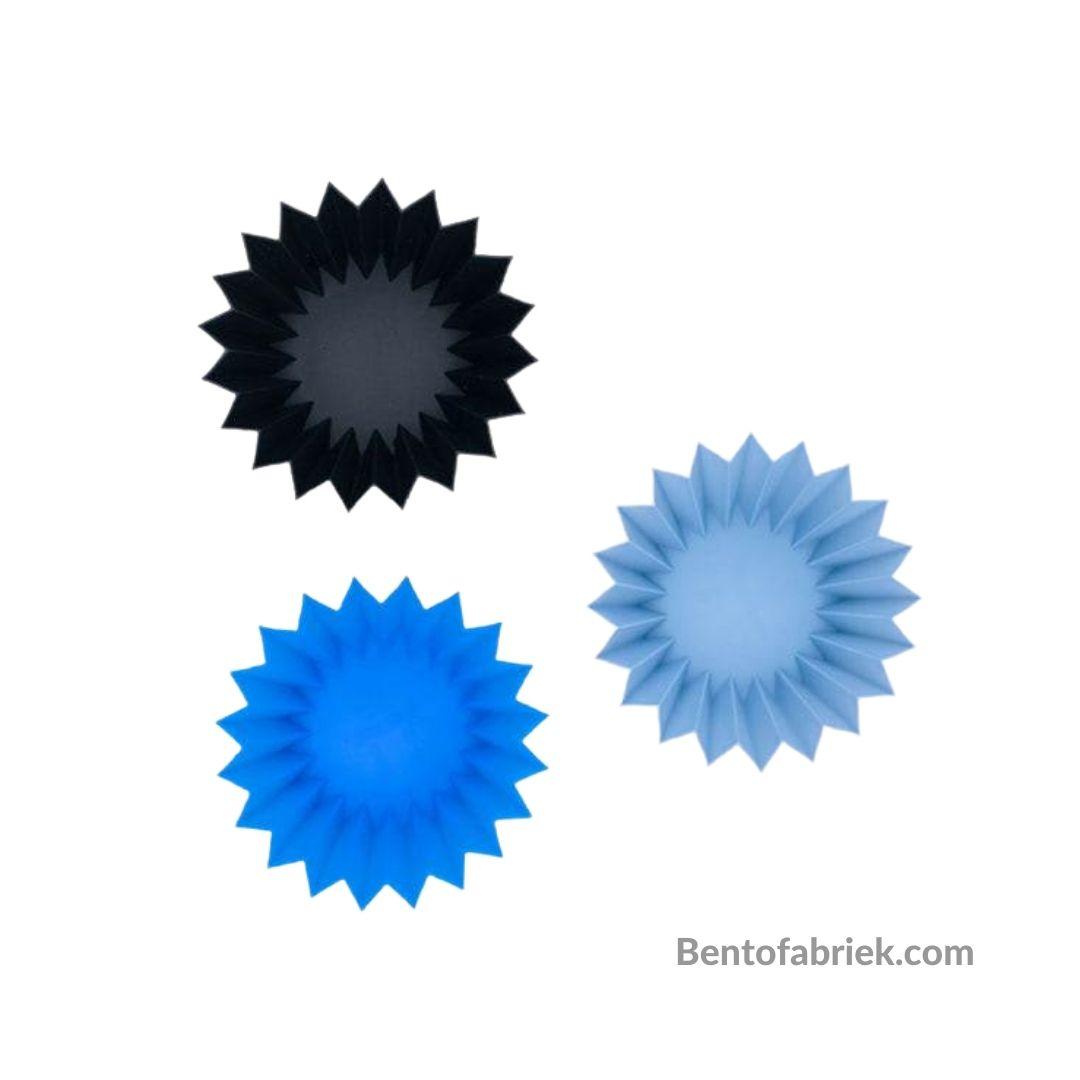Siliconen vormpjes blauw - Lunch Punch