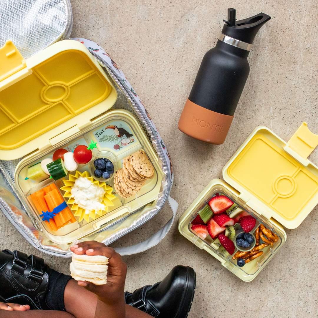 Siliconen vormpjes geel - Lunch Punch