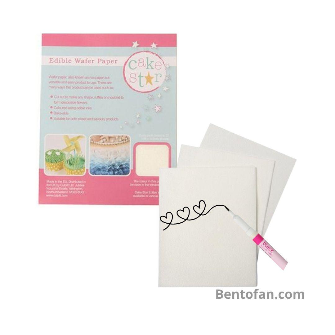 Snoeppapiertje - Eetbaar papier