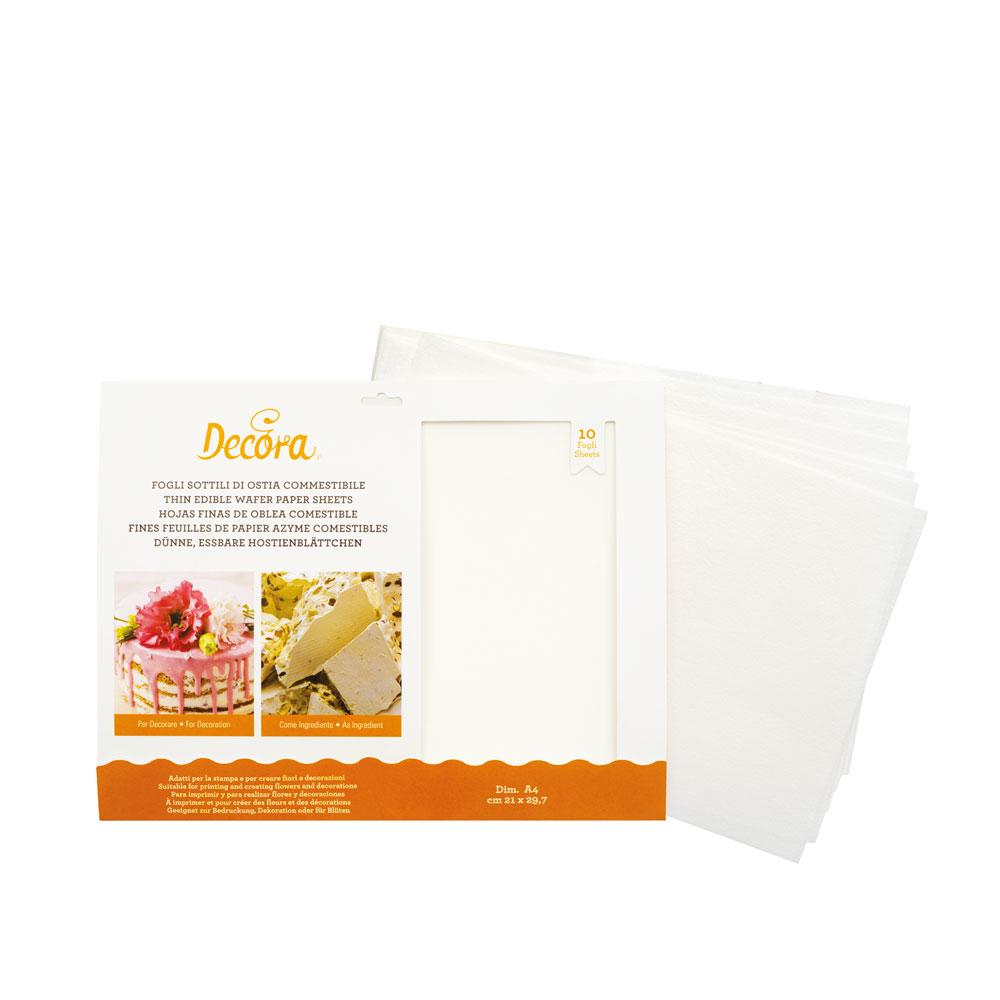 Snoeppapiertje - Eetbaar papier (natuurlijke ingrediënten)