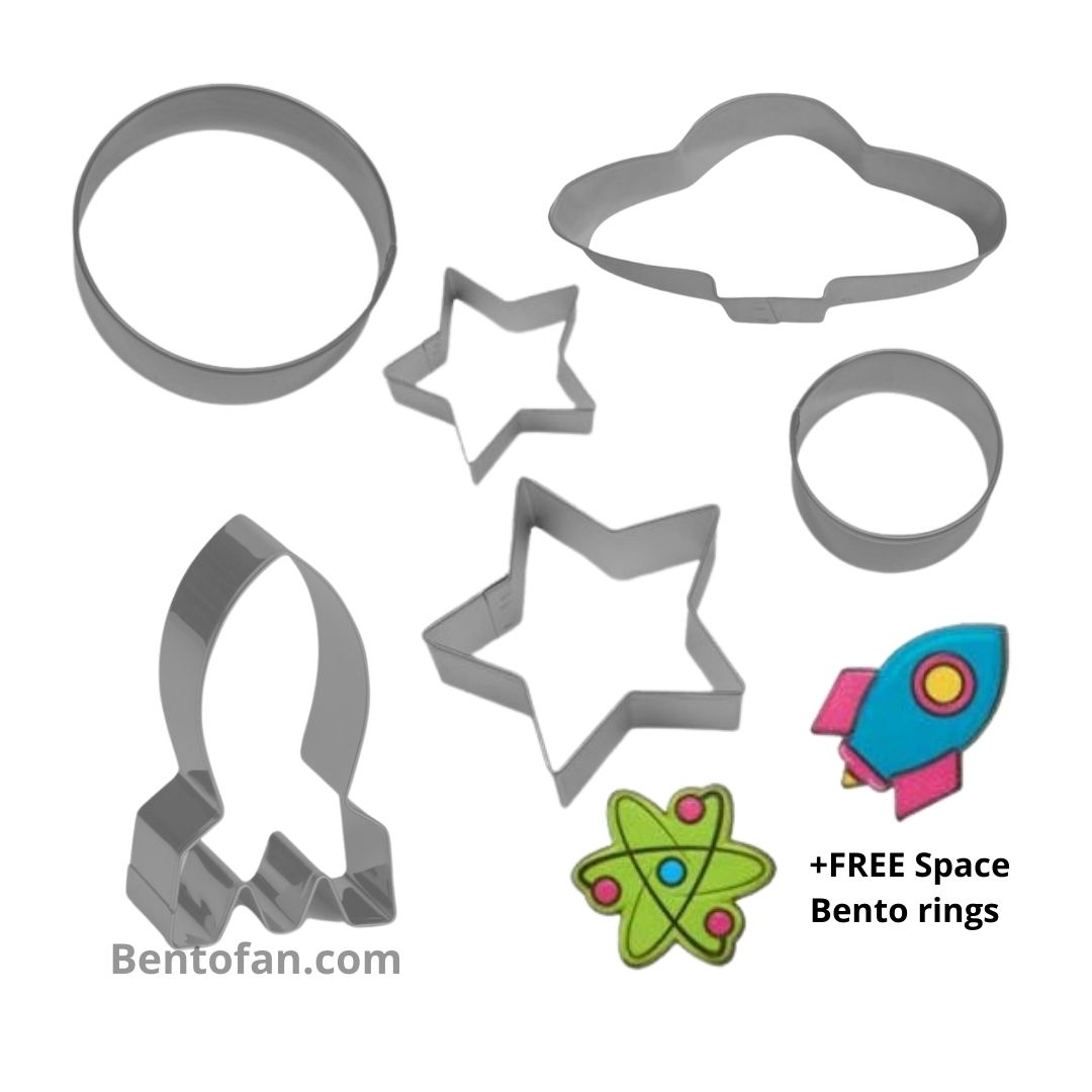Space uitsteekset + GRATIS Bento ringen