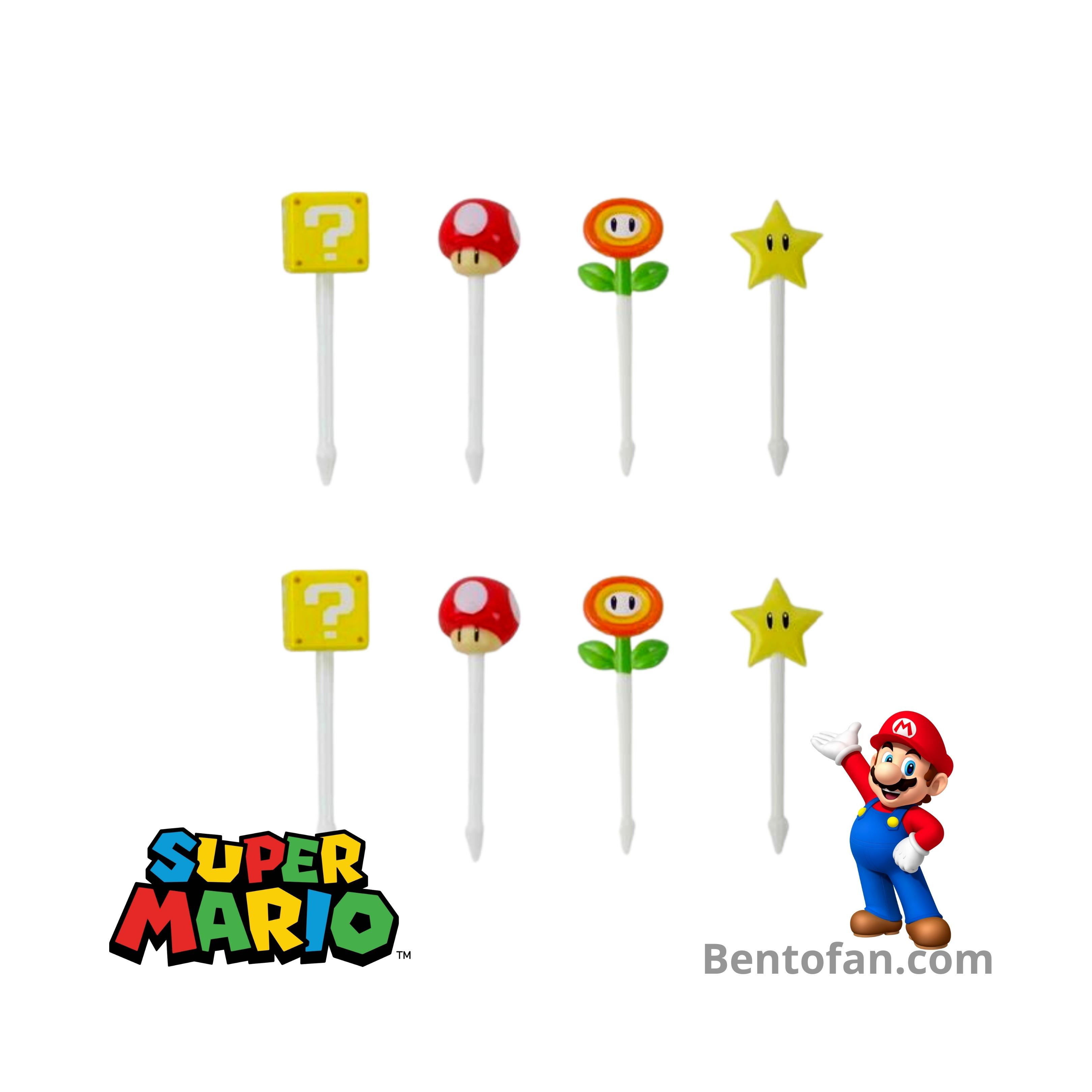 Super Mario bento prikkers