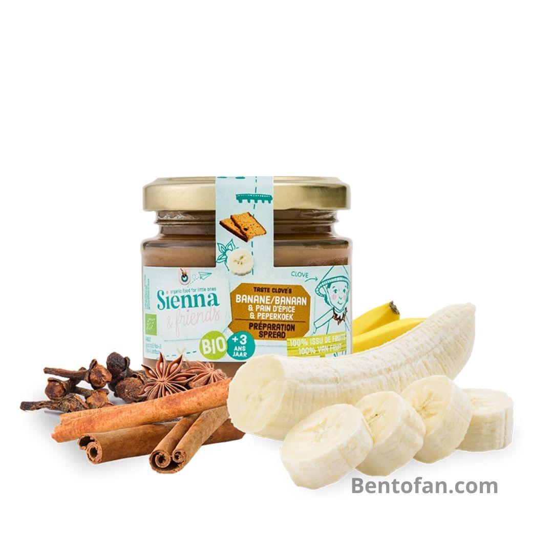 Spread van Banaan en Peperkoekkruiden - Sienna & friends