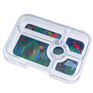 Yumbox Tapas Jungle tray - 5 vakken